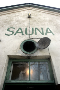 Rajaportin sauna on Suomen vanhin toimiva sauna